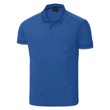 Picture of Galvin Green Mens Miller Golf Shirt - Kings  Blue