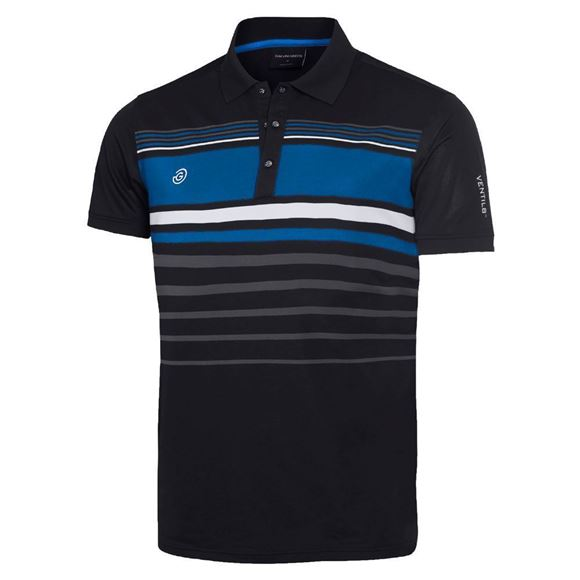 Picture of Galvin Green Mens Mayer Golf Shirt -  Navy/Steel