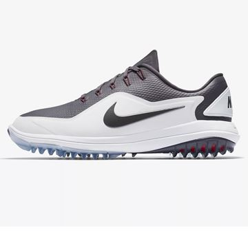 Picture of Nike Lunar Control Vapor 2 Golf Shoes - White/Grey