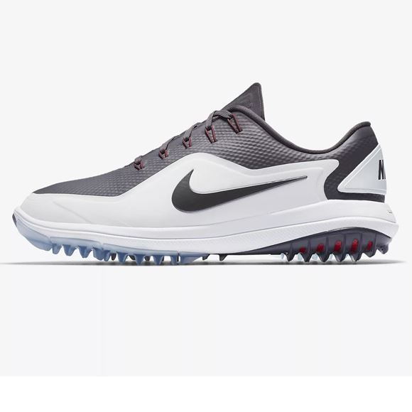 best service 5ed22 1b8bb Picture of Nike Lunar Control Vapor 2 Golf Shoes - White Grey