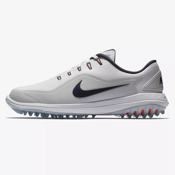wholesale dealer 32f62 59801 Picture of Nike Lunar Control Vapor 2 Golf Shoes - White Silver