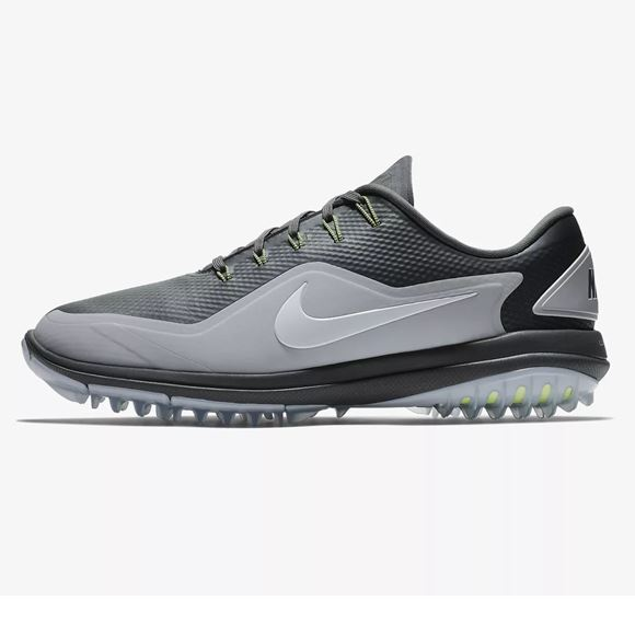 Picture of Nike Lunar Control Vapor 2 Golf Shoes - Black/Grey