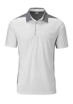 Picture of Ping Mens Coast Polo Shirt - White/Slate