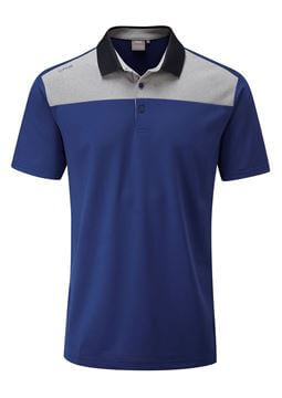 Picture of Ping Mens Drake Polo Shirt - Midnight Blue