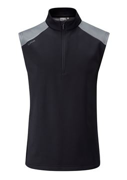Picture of Ping Mens Austin Vest - Black/Grey