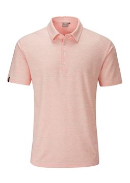 Picture of Ping Mens Harvey Polo Shirt - Orange Burst Mutli