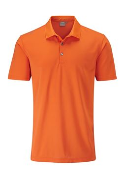 Picture of Ping Mens Lincoln Polo Shirt - Orange Burst