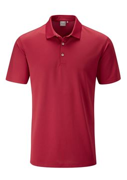 Picture of Ping Mens Lincoln Polo Shirt - Rich Red