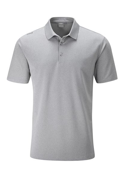 Picture of Ping Mens Lincoln Polo Shirt - Silver
