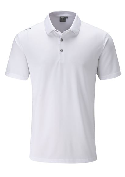 Picture of Ping Mens Lincoln Polo Shirt - White