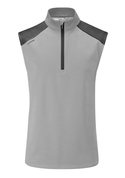 Picture of Ping Mens Austin Vest - Silver/Black