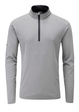 Picture of Ping Mens Truman 1/4 Zip Pullover - Silver