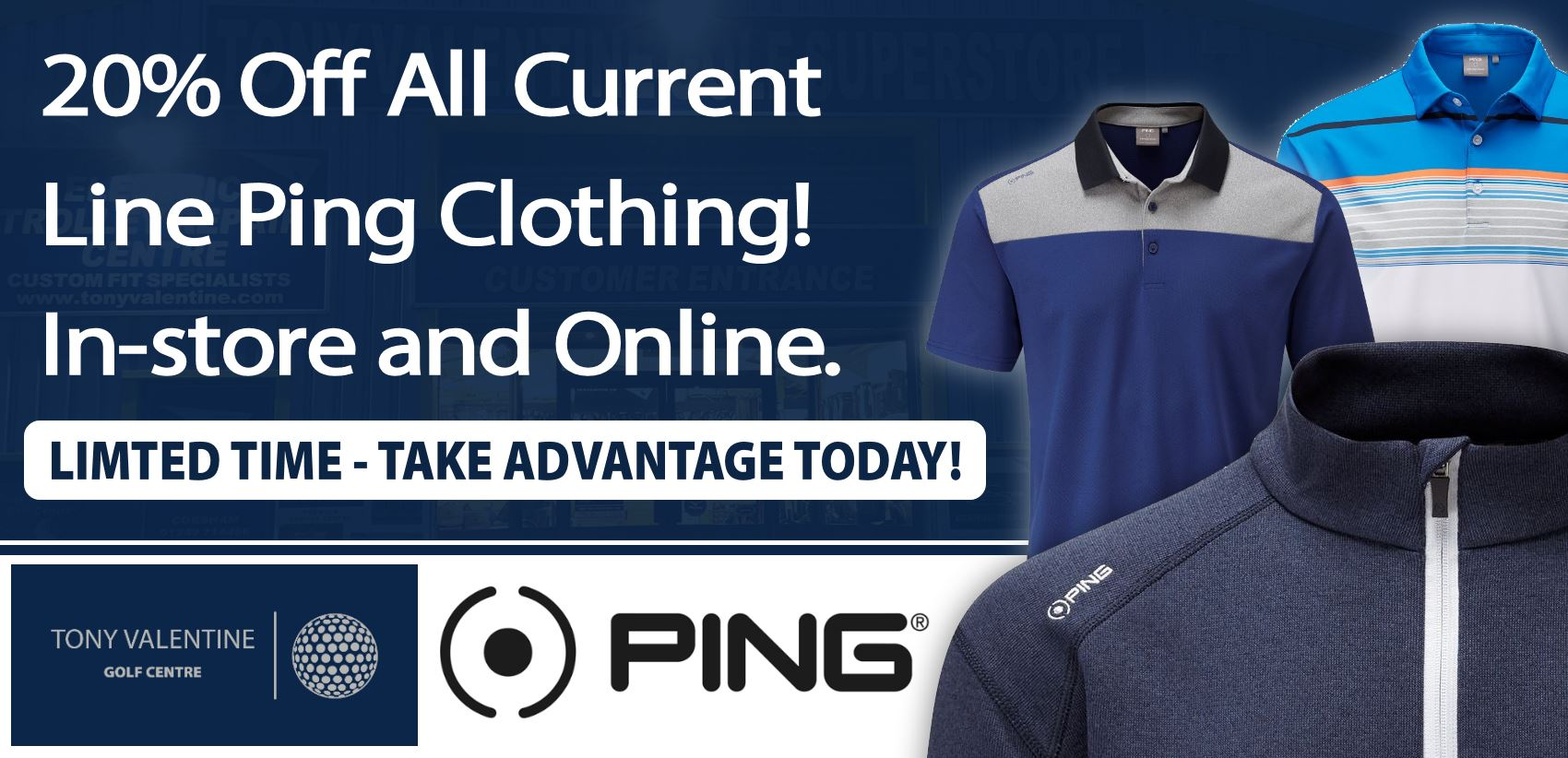 20% Off Ping Clothing