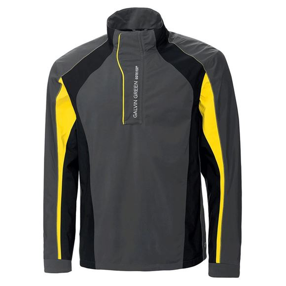 Picture of Galvin Green Mens Addison Waterproof Jacket - Iron/Yellow