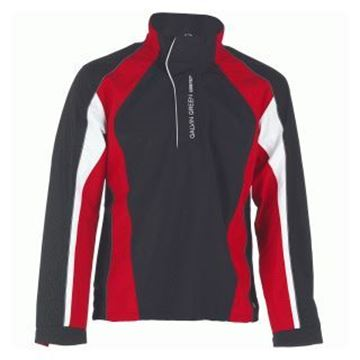 Picture of Galvin Green Mens Addison Waterproof Jacket - Black/Red