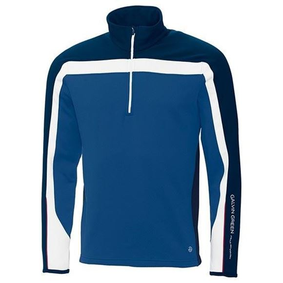 Picture of Galvin Green Mens Danny Insula Pullover - Blue