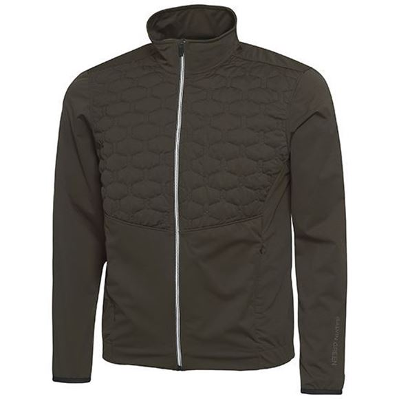 Picture of Galvin Green Mens Luke Interface Jacket - Beluga