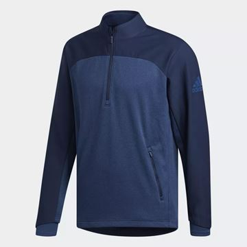 Picture of Adidas Mens Go-To Adapt 1/4 Zip Pullover - DN3406