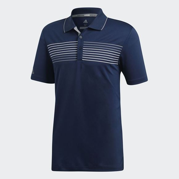 Picture of Adidas Mens Essentials Polo Shirt - Navy