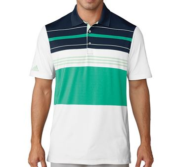 Picture of Adidas Mens Ultimate 365  Blocked Polo Shirt - CF7991