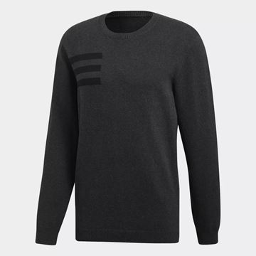 Picture of Adidas Mens Crew Neck Sweater - Black