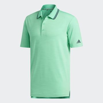 Picture of Adidas Mens Ultimate 365 Heather Polo Shirt - Green