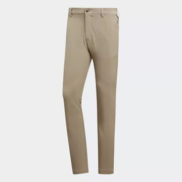 Picture of Adidas Mens Ultimate 365 3 Stripe Trousers - Sand