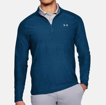 Picture of Under Armour Mens Playoff 1/4 Zip Pullover - Navy