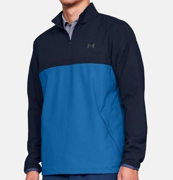 Picture of Under Armour Mens Storm WindStrike 1/4 Zip Pullover - Blue/Navy