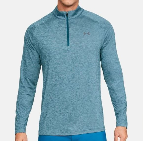 Picture of Under Armour Mens Playoff 1/4 Zip Pullover - Blue