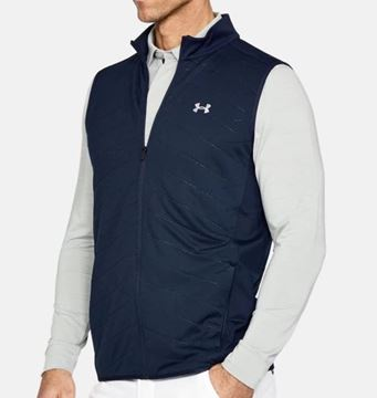 Picture of Under Armour Mens Cold Gear Reactor Vest - Navy