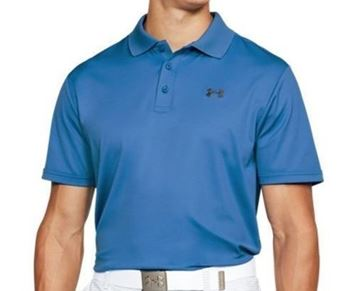Picture of Under Armour Mens Performance Polo Shirt - Blue