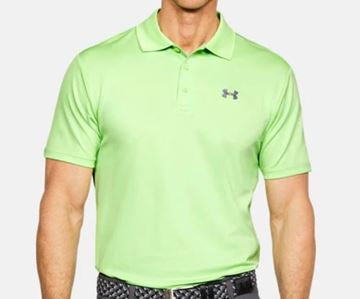 Picture of Under Armour Mens Performance Polo Shirt - Green