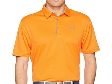 Picture of Under Armour Mens Performance Polo Shirt - Orange