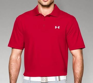 Picture of Under Armour Mens Performance Polo Shirt - Red