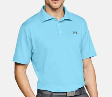 Picture of Under Armour Mens Performance Polo Shirt - Turquoise