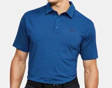 Picture of Under Armour Mens Playoff Polo Shirt - Blue