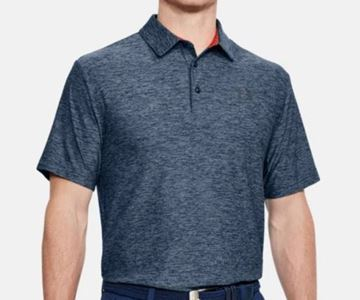 Picture of Under Armour Mens Playoff Polo Shirt - Blue Flecks