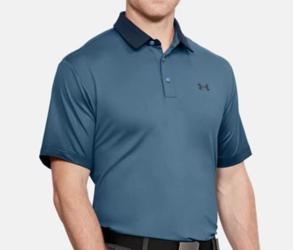 Picture of Under Armour Mens Playoff Polo Shirt - Light Navy