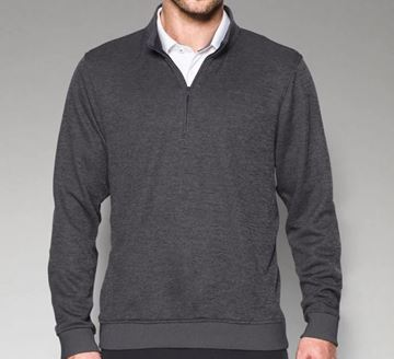 Picture of Under Armour Mens Storm Sweater Fleece 1/4 Zip Pullover - Grey