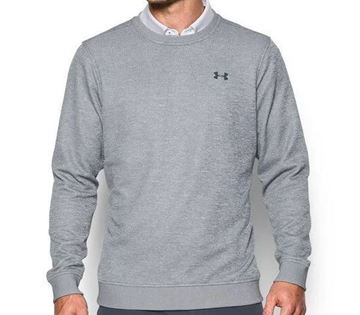 Picture of Under Armour Mens Storm Sweater Fleece Crew Sweater - Grey