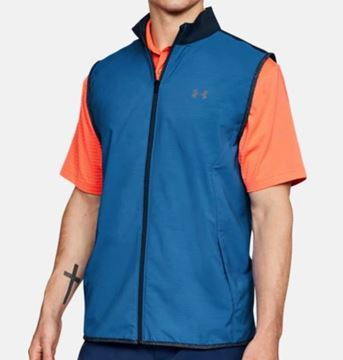 Picture of Under Armour Mens Windstrike Vest - Blue/Navy