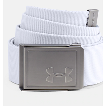 Picture of Under Armour Mens Webbing 2.0 Reversible Belt - 1305487-100