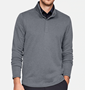 Picture of Under Armour Mens Storm Heather Snap Mock Pullover - Grey