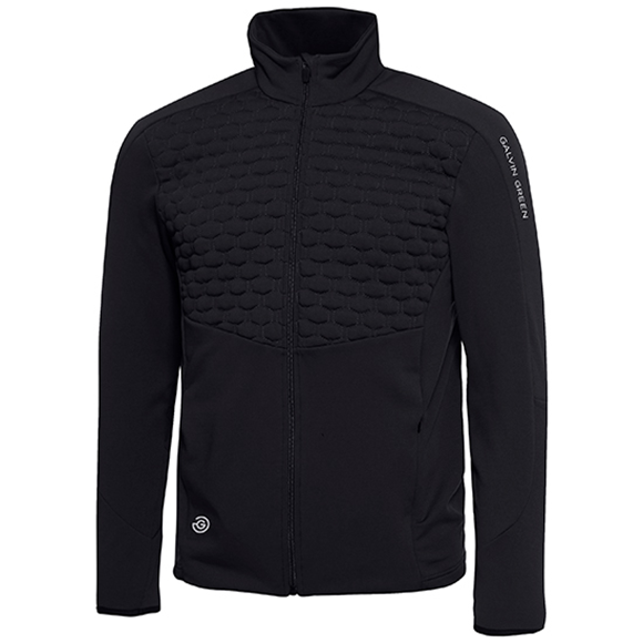 Picture of Galvin Green Mens Darin Insula Pullover - Black
