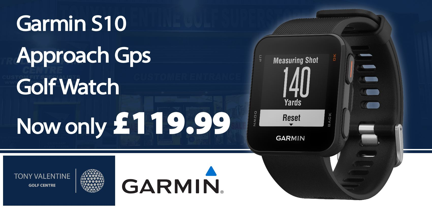 Garmin S10 Watch £119.99