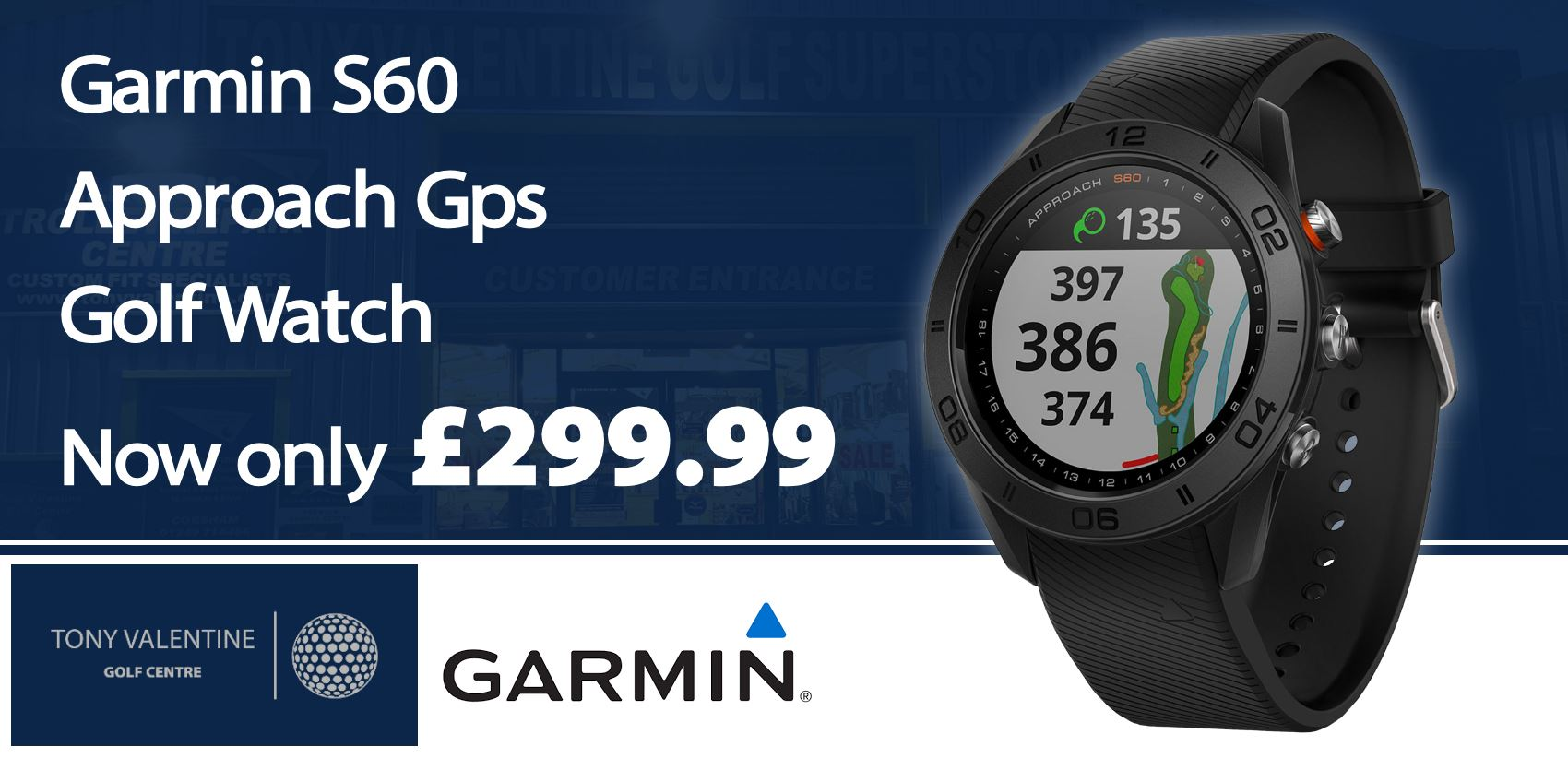 Garmin S60 Watch £299.99