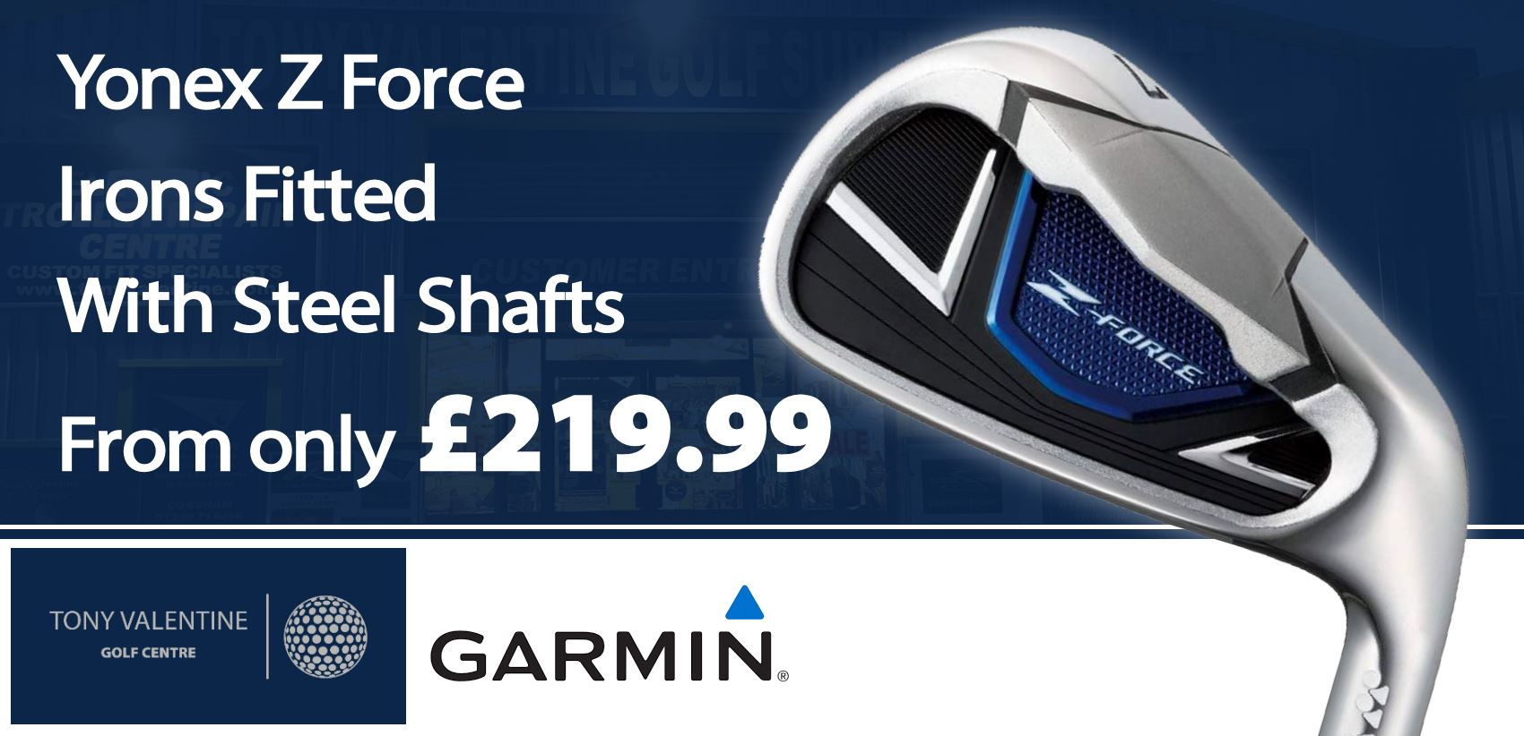 Yonex Z Force Irons from £219.99