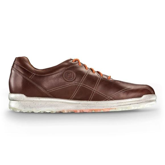 Picture of Footjoy Mens Versaluxe Golf Shoes - Brown