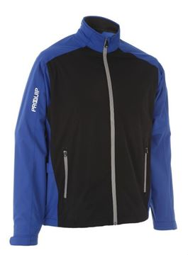 Picture of ProQuip Mens PX1 Waterproof Jacket - Black/Blue